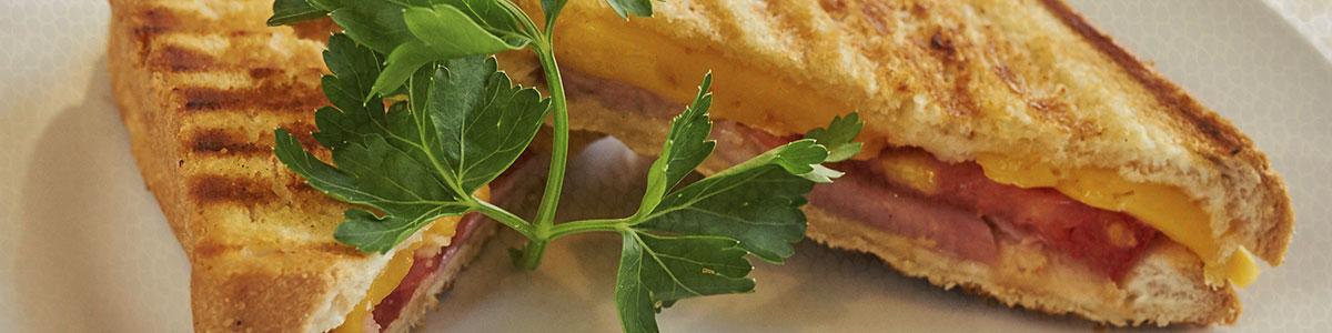 Panini de Requeijão low-carb (para misto quente paleo)